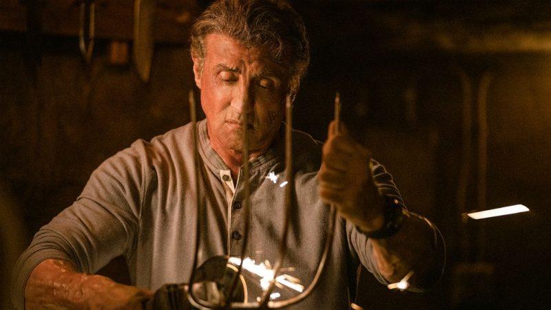Rambo scena forcone