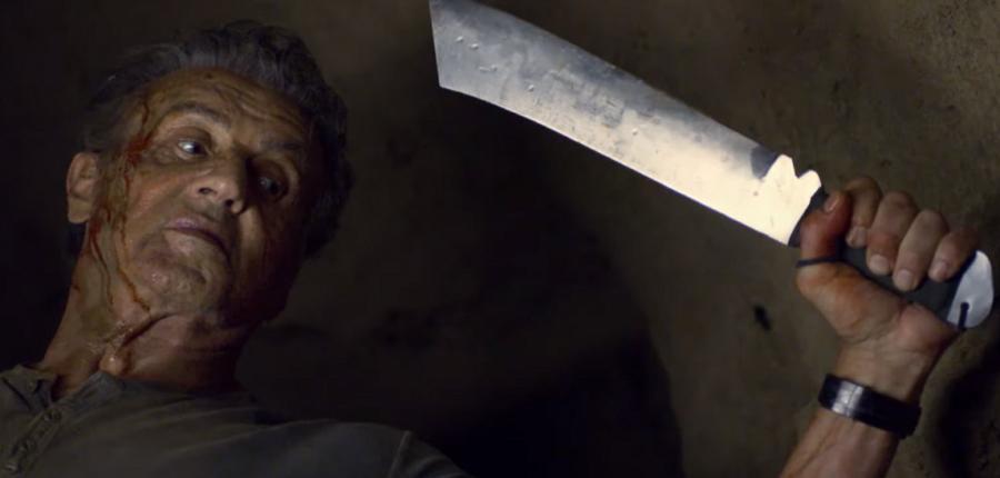 Rambo con machete
