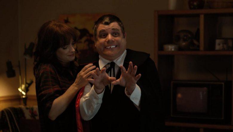 Bob Dracula Stranger Things scena