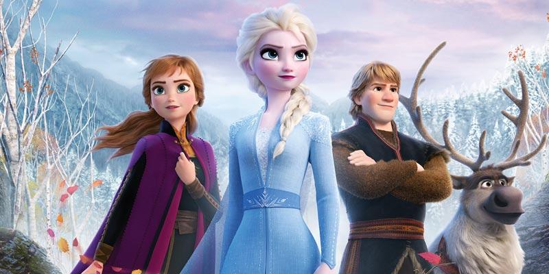 Frozen 2 Elsa Anna Sven e Kristoff
