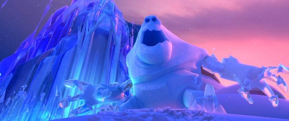 Marshmallow gigante ghiaccio in Frozen