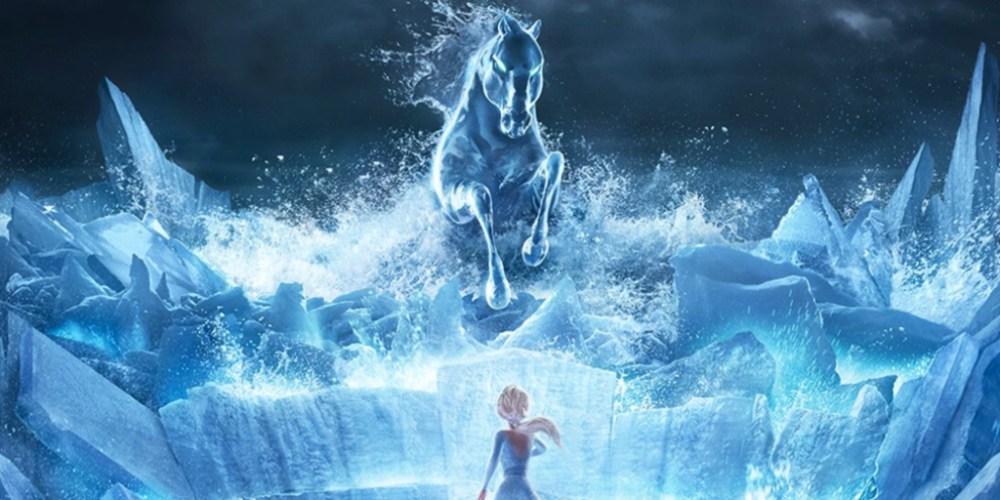Frozen 2 poster cavallo Nokk
