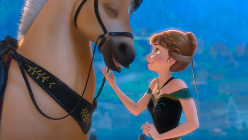 Sitron cavallo di Anna in Frozen