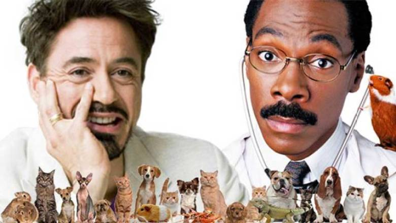 Robert Downey Jr e Eddie Murphy