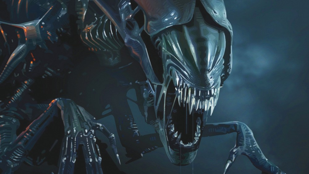 Aliens Scontro Finale Poster Regina