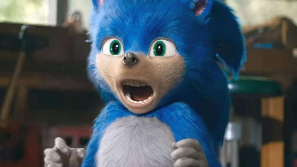 Sonic il film vecchio design
