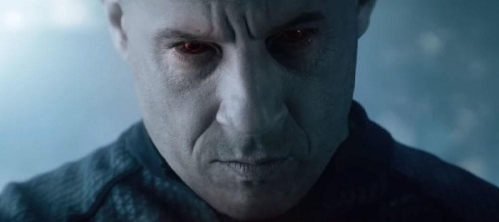 Bloodshot primo piano di Vin Diesel