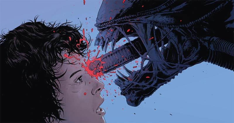 Alien finale alternativo violento