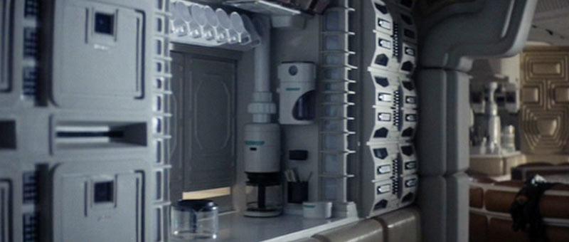 Mr Fusion di Ritorno al Futuro in Alien