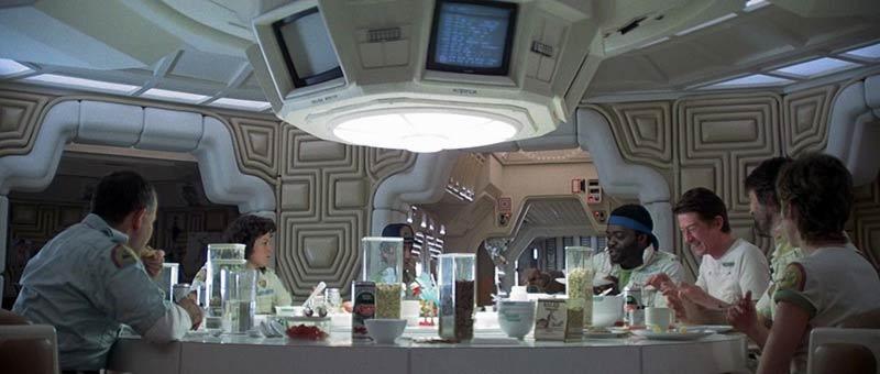 Alien sala da pranzo della Nostromo