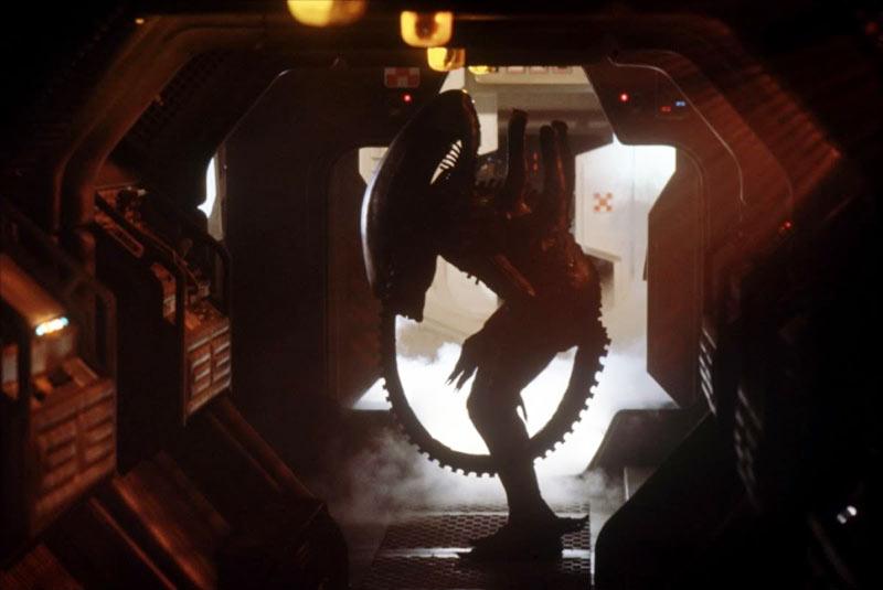 Scena tagliata di Alien camera decompressione