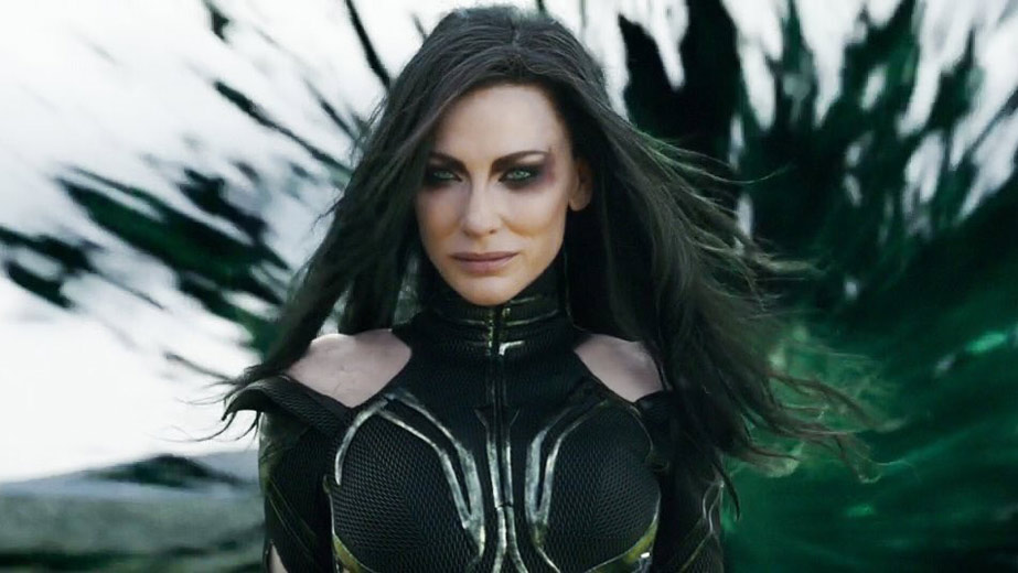 Cate Blanchett Hela in Thor Ragnarok