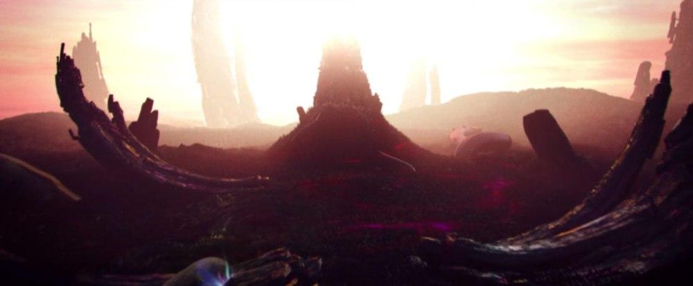 Mondo degli Antichi in Color out of Space