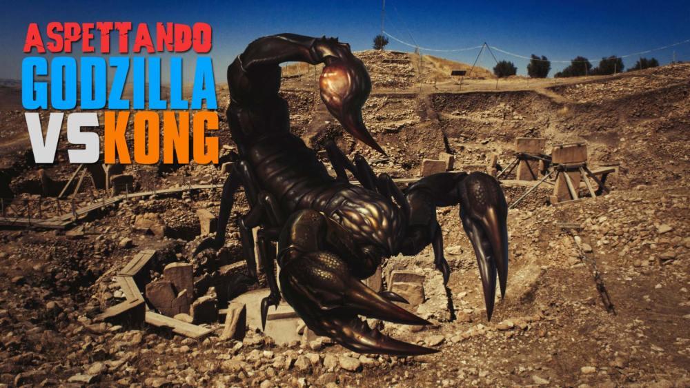 Godzilla vs Kong nuovo titano Scorpione