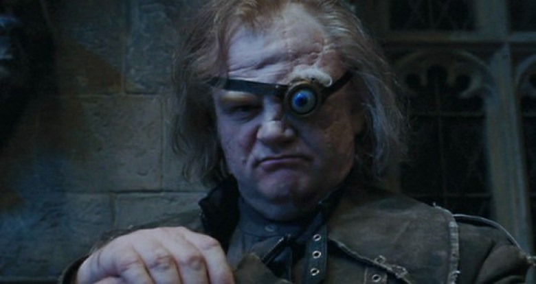 Malocchio Moody in Harry Potter