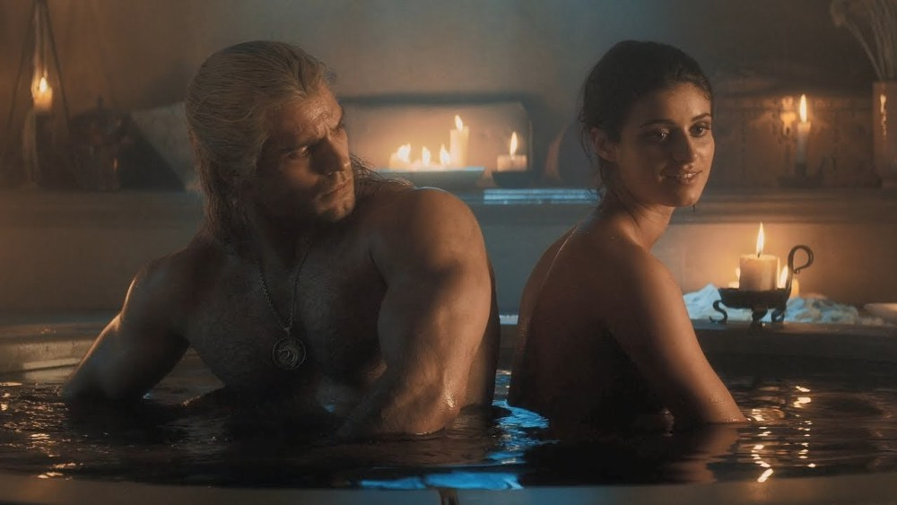 netflix the witcher geralt e yennefer
