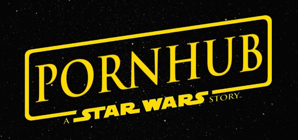 Pornhub A Star Wars Story logo