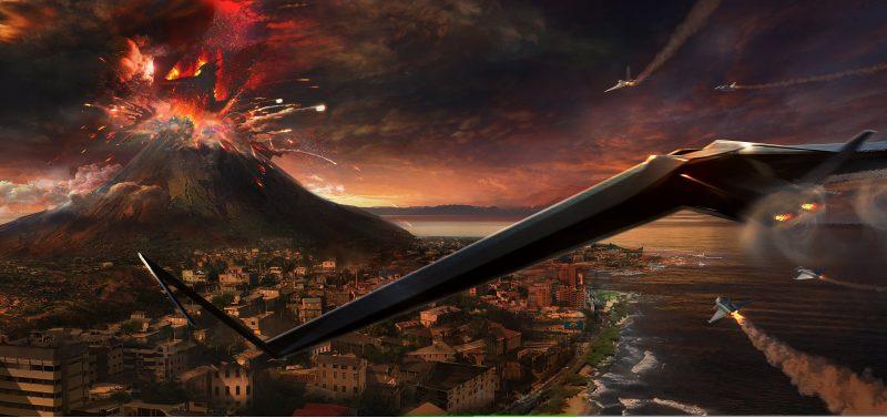 Rodan vulcano artwork
