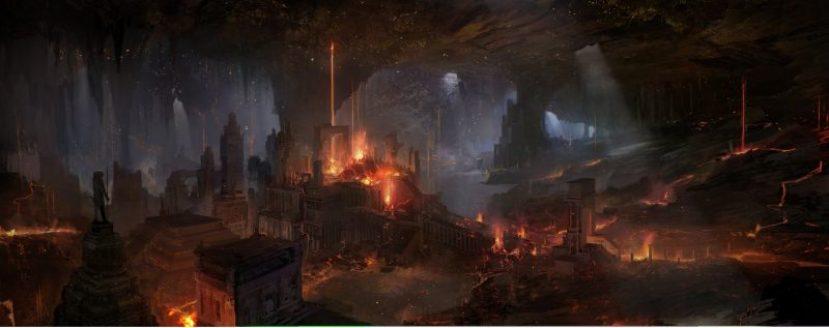 Godzilla-Home-casa-Terra-Cava-King-of-the-Monsters-