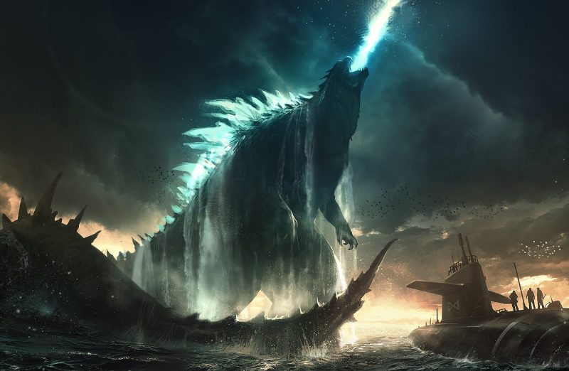 Godzilla reborn concept
