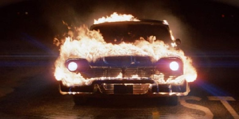 Christine Plymouth Belvedere fiamme