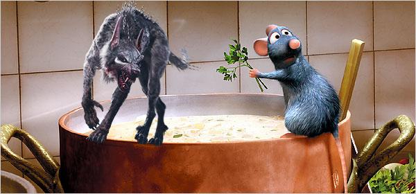 rat ratto ratatouille monster movie