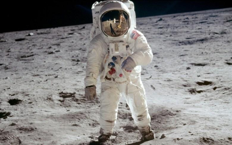 Sbarco sulla Luna fotografia