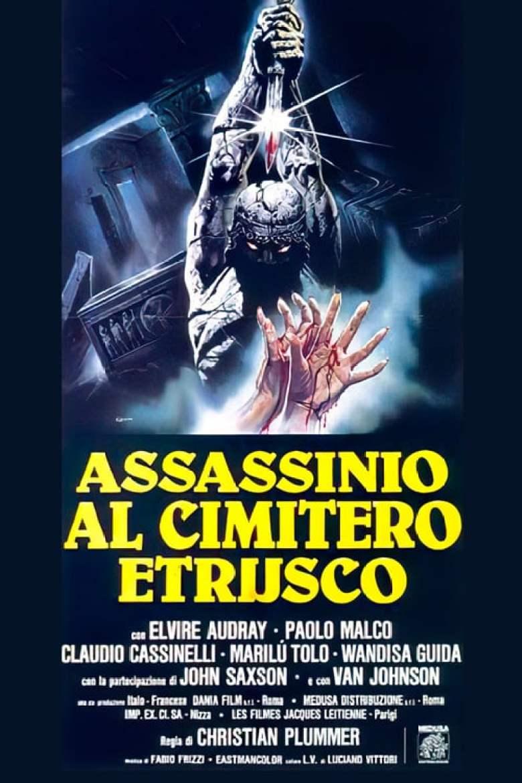 Assassinio Cimitero Etrusco poster