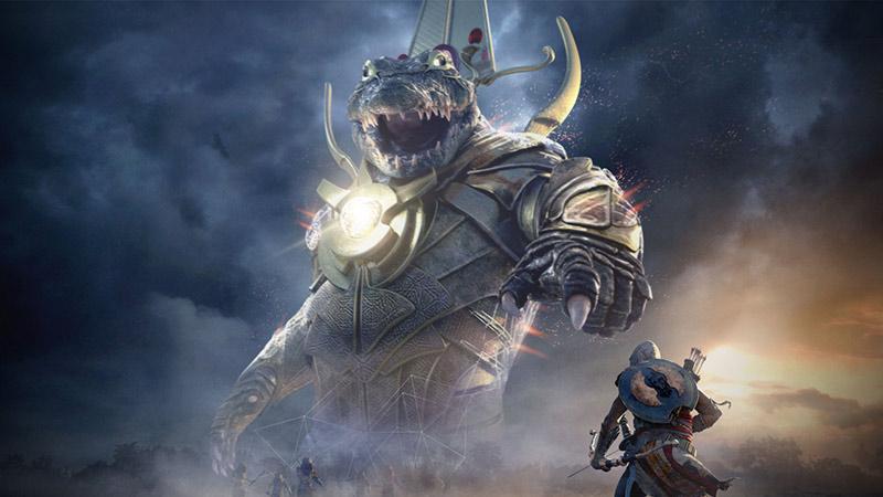 Sobek nemico Assassin's Creed Origins