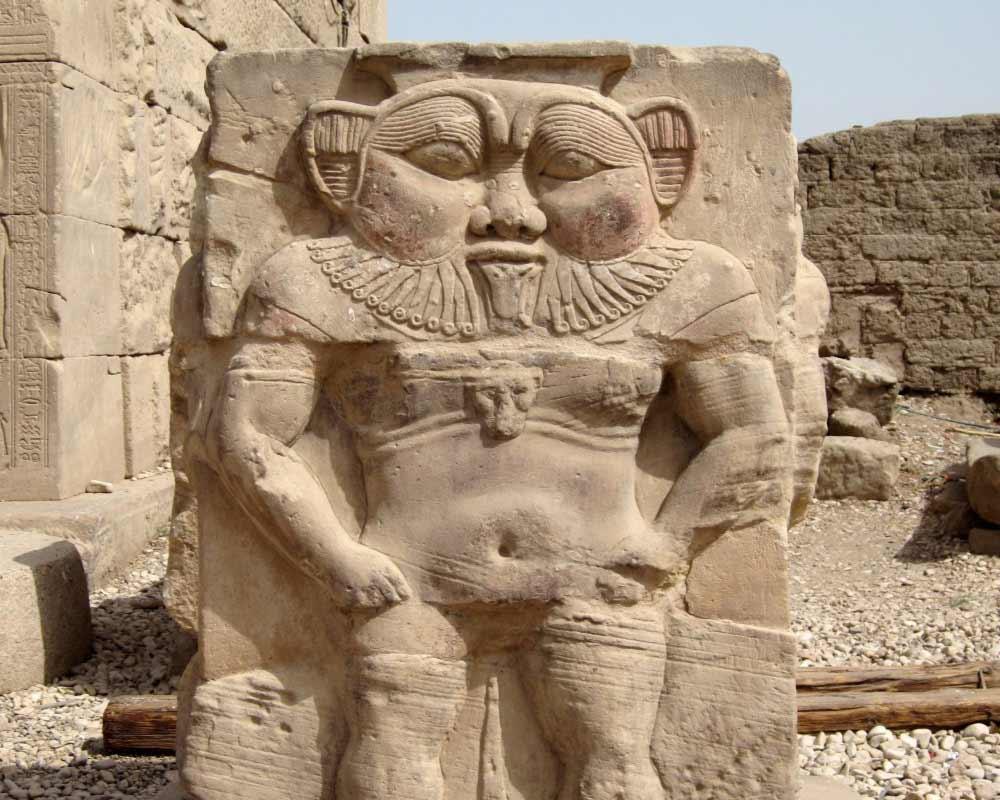 Bes demone nano Egitto