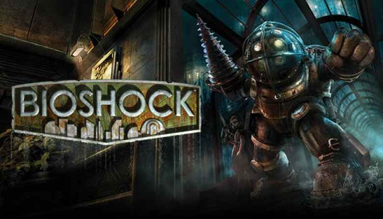 Bioshock gioco logo e Big Daddy