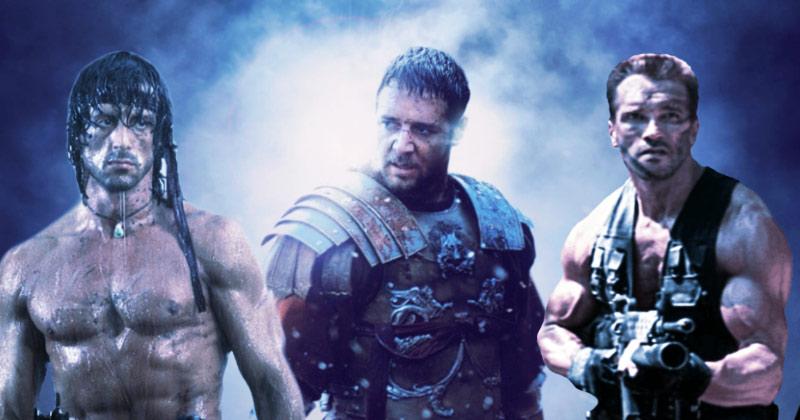 Gladiatore Schwarzenegger e Rambo