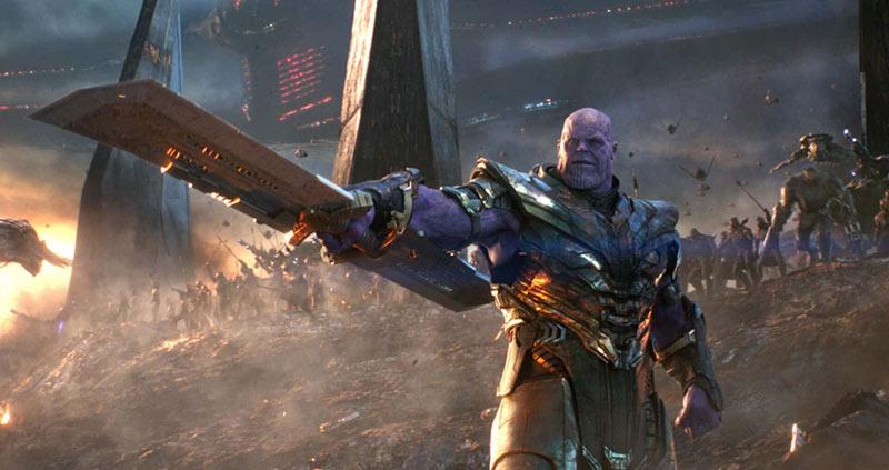 Thanos finale Endgame