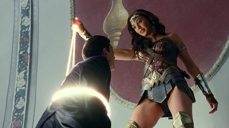 Wonder Woman scena in Justice League