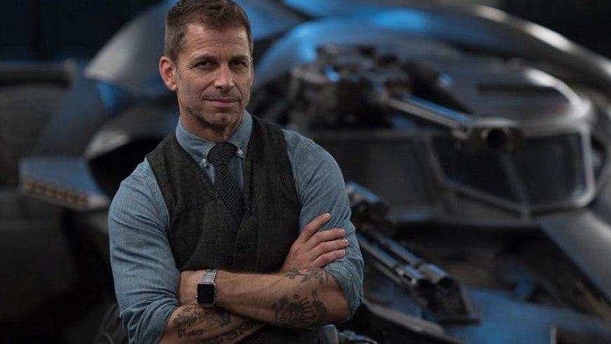 Zack Snyder behind the scenes director