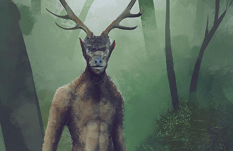Uomo cervo del Molise