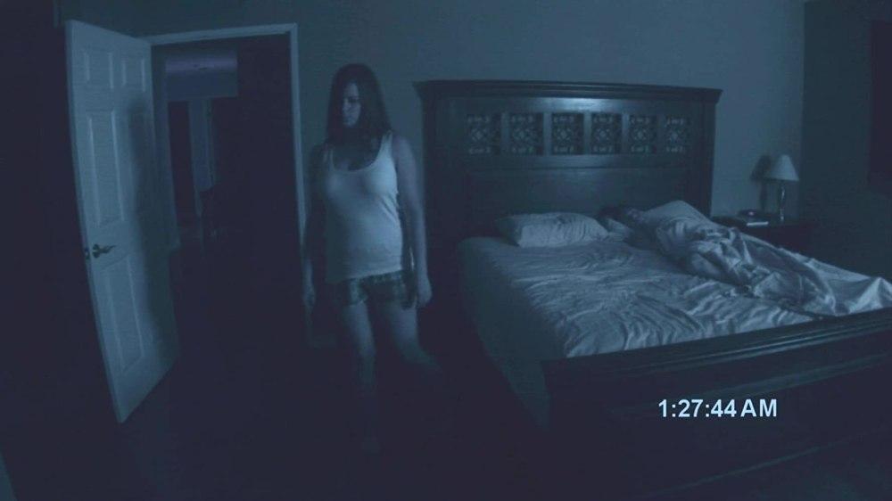 Paranormal Activity scena sonnambulismo