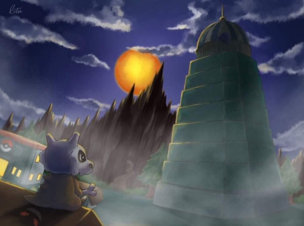 Torre Lavandonia Pokémon