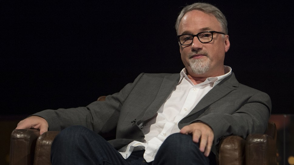 David Fincher at Bafta - 19 Sep 2014