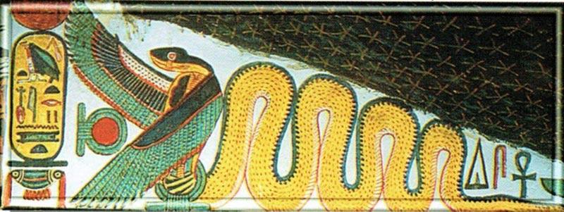 Mehen dio egiziano serpente