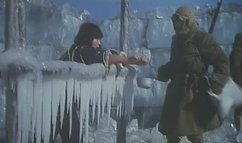Men Behind the Sun braccia congelate