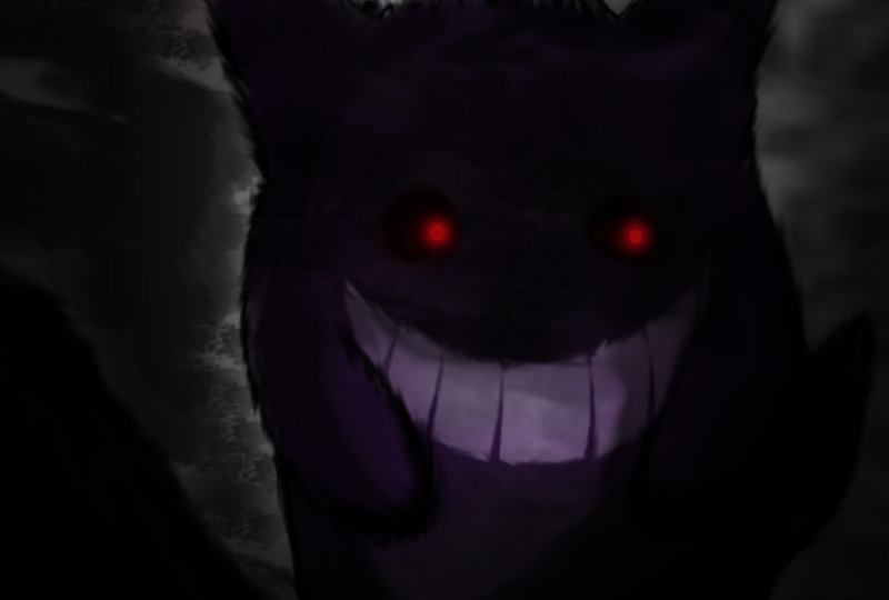 Sindrome Lavandonia Gengar fan art