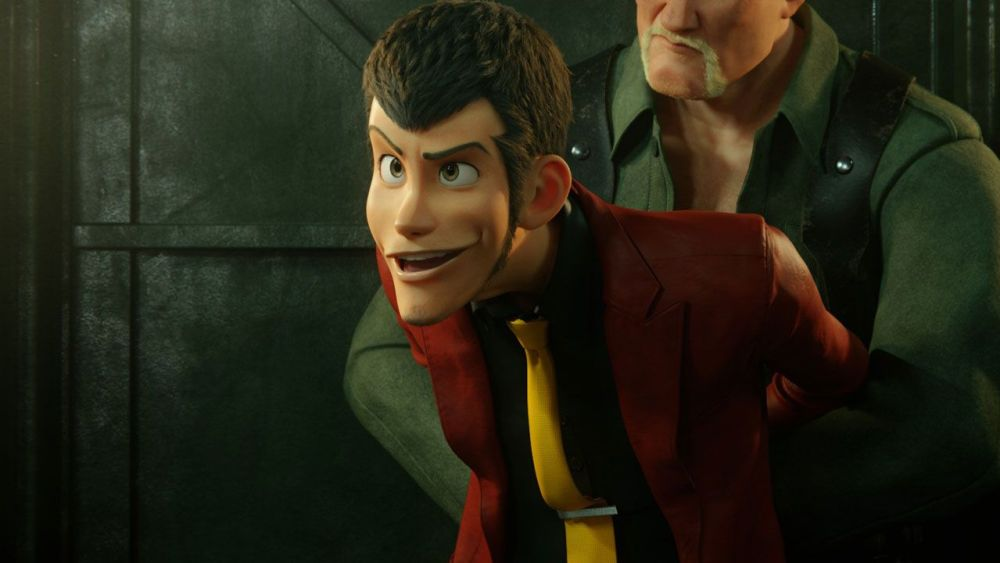 Lupin the First guardia nazista