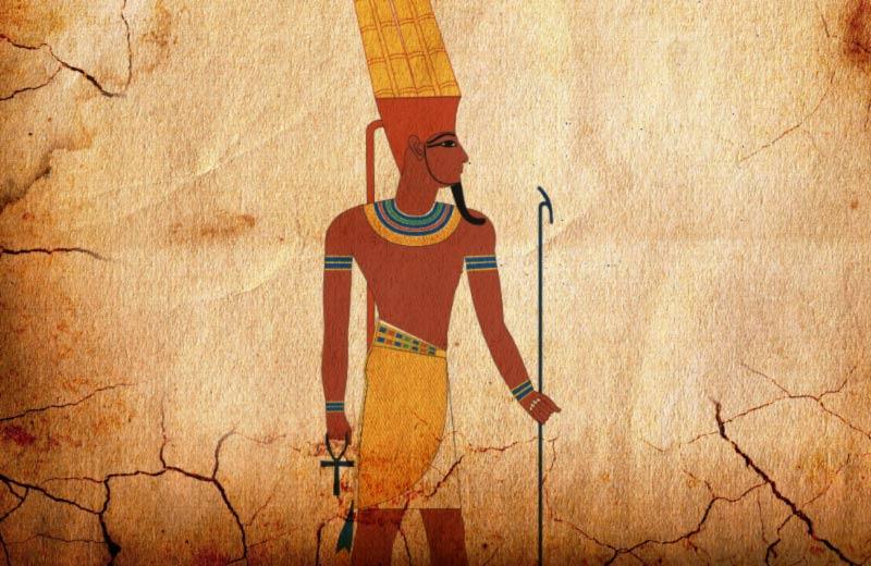 Amon Ra geroglifico