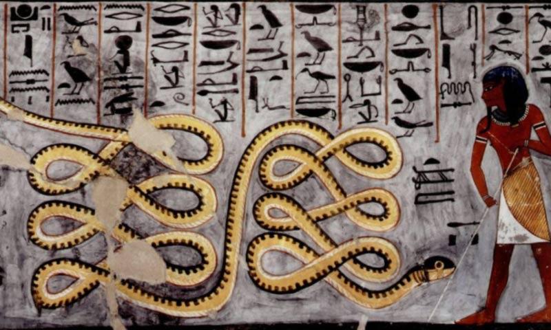 Apopi serpente geroglifici