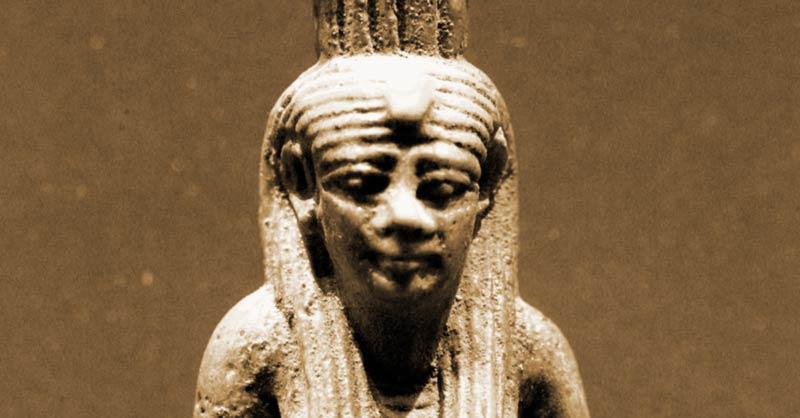 Statua della dea Nefti