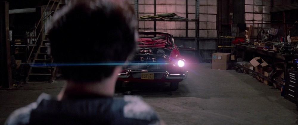 Christine garage macchina infernale