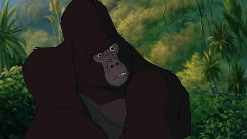 Kerchak Tarzan film disney