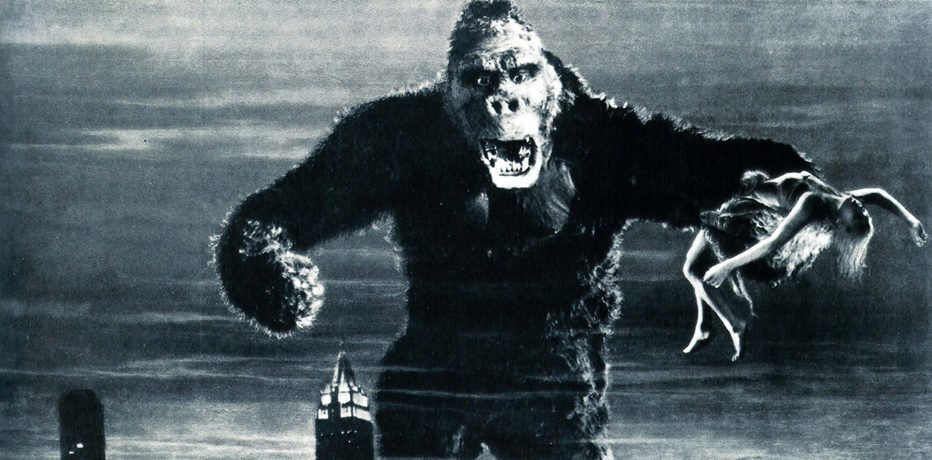 King Kong 1933 black face