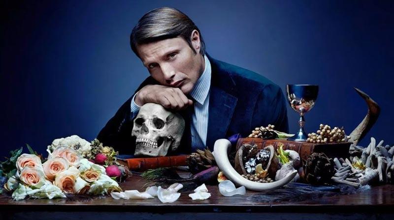 Mads Mikkelsen nella serie Hannibal